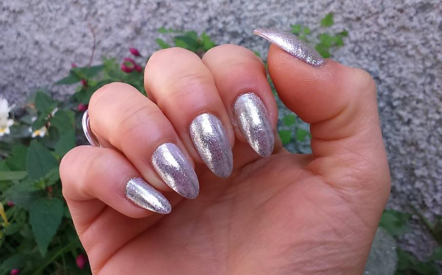 Unghie effetto specchio essense blossom dreams mirror effect nail pigment nailartenon - Unghie effetto specchio ...