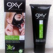 Recensione Oxy esthétique peel off black mask