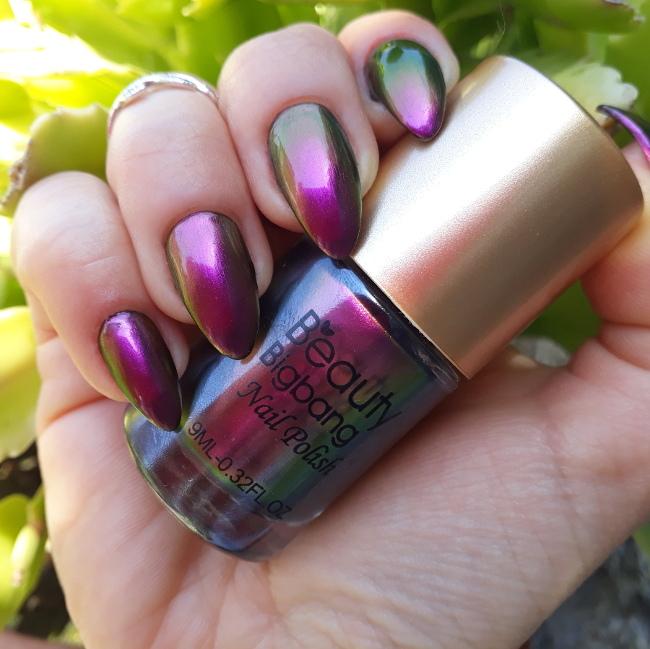 Beauty Bigbang Chameleon polish 03 magenta2