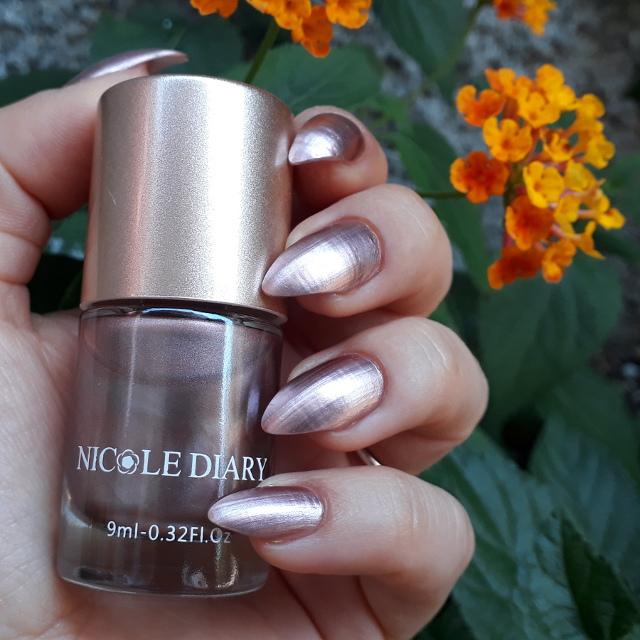 Nicole Diary Metallic nail polish ND304 2