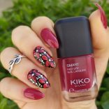 Kiko Smart nail lacquer 12 Scarlet red