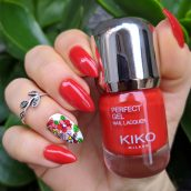 Kiko Perfect Gel Duo nail lacquer + Top coat