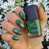 Kiko Smart nail lacquer 87 Lawn green
