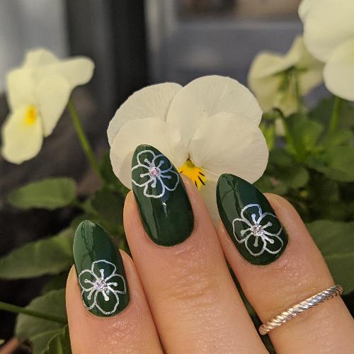 Kiko Smart nail lacquer 87 Lawn green 3