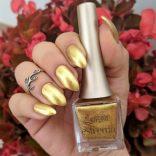 Estrosa Estremo Long lasting nail polish Pure gold 24K
