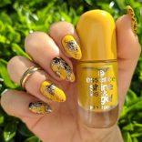 Essence Shine Last and Go 62 Walking on sunshine e nail art autunnale