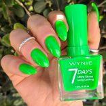 Smalto Wynie 7 Days Verde fluo