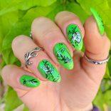 Stamping plate Nicole Diary e nail art primaverile